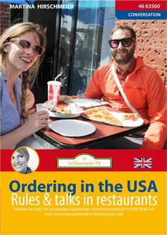 Schulfilm In English - Ordering in the USA - rules & talks in restaurants downloaden oder streamen